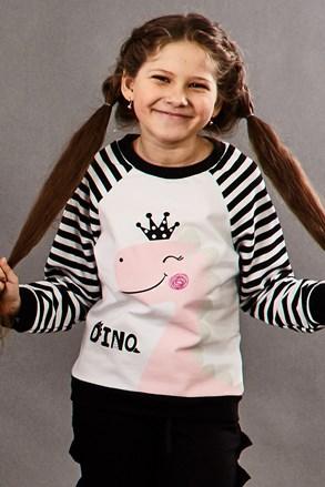 Bluza fetite Dino Princess