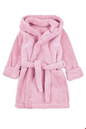 Halat de baie pentru copii, roz