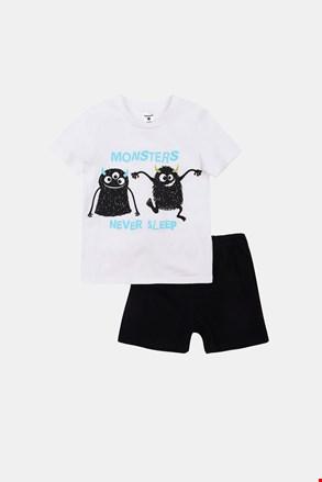 Pijama strălucitoare pentru băieți Monsters