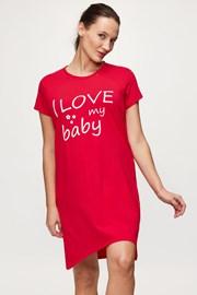 Cămașă de noapte Love baby, sarcină și alăptare