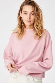 Bluza dama Brina Oversized, roz