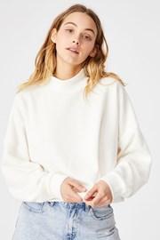Bluza dama Brina Oversized, bej