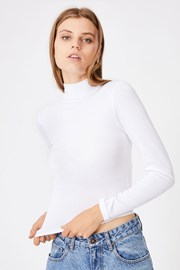 Bluza basic Mila, pentru femei, cu guler
