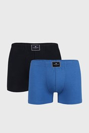 2 PACK boxeri Tom Tailor Palm, albastru