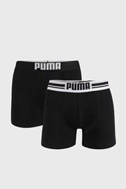 2 PACK boxeri Puma Places Logo, negri