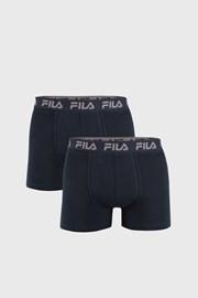 2-PACK boxeri FILA albastru, banda elastica albastru inchis