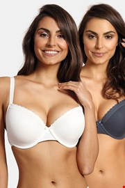 2 PACK sutien intarit Lila curves