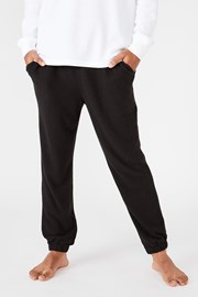 Pantalon de trening Supersoft Drake negru