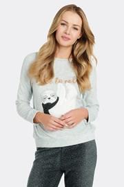 Bluza de pijama, material fleece