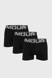 3 PACK boxeri Under Armour Cotton, negru