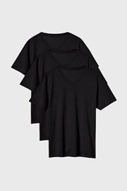 3 PACK tricou Kane negru
