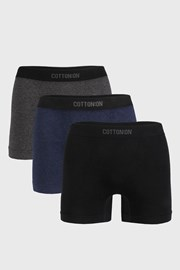 3 PACK boxeri Seamless Trunk I