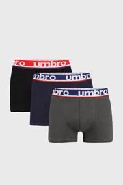 3 PACK boxeri Umbro Bio Organic