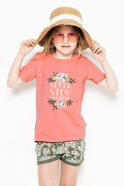 Pijama Flowers pentru fetite
