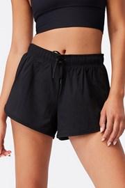 Pantalon scurt de damă negru