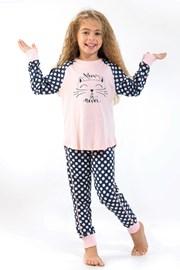 Pijama fetite Blackspade Meow