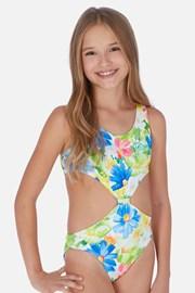 Costum de baie Tropical, pentru fetite