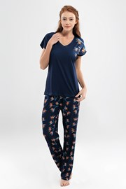 Pijama dama Valeria, lunga
