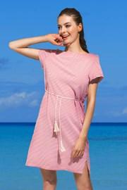 Rochie de plaja Panora, rosu