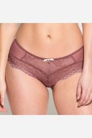 Chilot Gossard Superboost Lace, croiala frantuzeasca, roz
