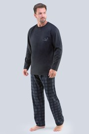 Pijama Tristan, gri inchis