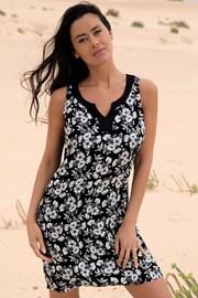 Rochie plaja Flowery