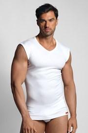 Tricou fără mâneci, termo, alb