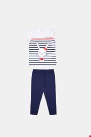 Pijamale pentru fetite Buny albastru