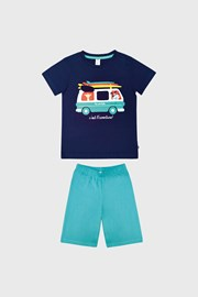 Pijamale pentru baieti Bus