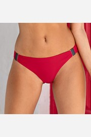 Slip costum de baie Blanka Red