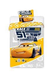 Lenjerie de pat pentru baieti Cars Dinoco