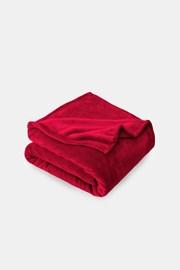 Pătură Microplus, roșu