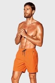 Pantalon scurt de baie David 52 Caicco oranj