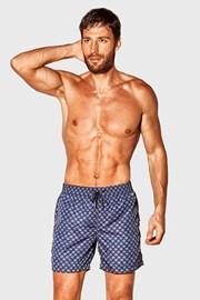 Pantalon scurt de baie David 52 Caicco albastru-alb