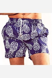 Costum de baie barbatesc DAVID52 Pineapple Caicco