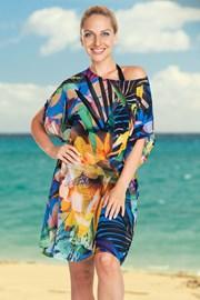 Rochie de plajă Jungle Flower