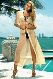 Rochie de plaja Glamour gold