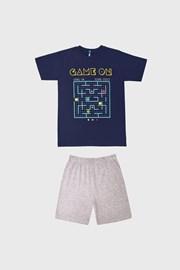Pijama băieți Game on