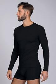Bluza cu maneca lunga, negru
