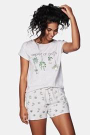 Pijama dama Green