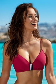 Sutien costum de baie Edith Red