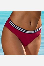 Slip costum de baie Edith Red