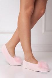 Papuci dama Fluffy