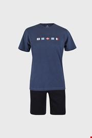 Pijama Flags albastru