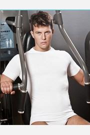 Tricou sport barbatesc HASTER, fara cusaturi, antibacterian