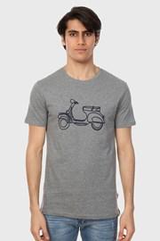 Tricou Rider, gri