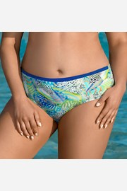 Slip costum de baie Colorful world