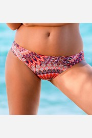 Slip costum de baie Butterfly Orange