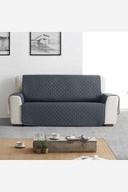 Husa Moorea pentru canapea cu trei locuri, gri