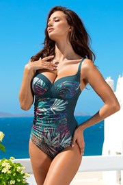 Costum de baie intreg Orbit green
